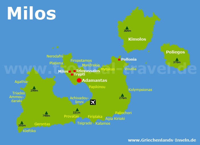 Milos Karte