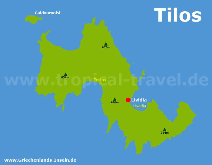 Tilos Karte