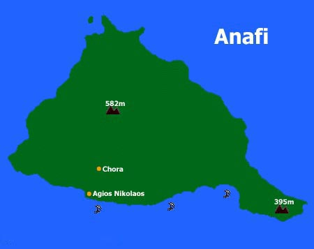 Anafi Karte