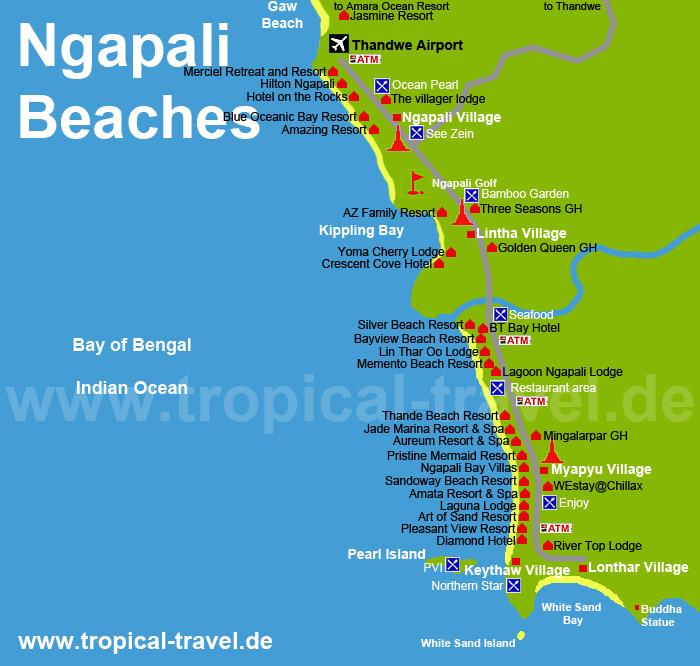 Ngapali Myanmar  City pictures : Ngapali Myanmar travel guide: Ngapali beaches