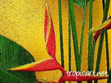 tropical art