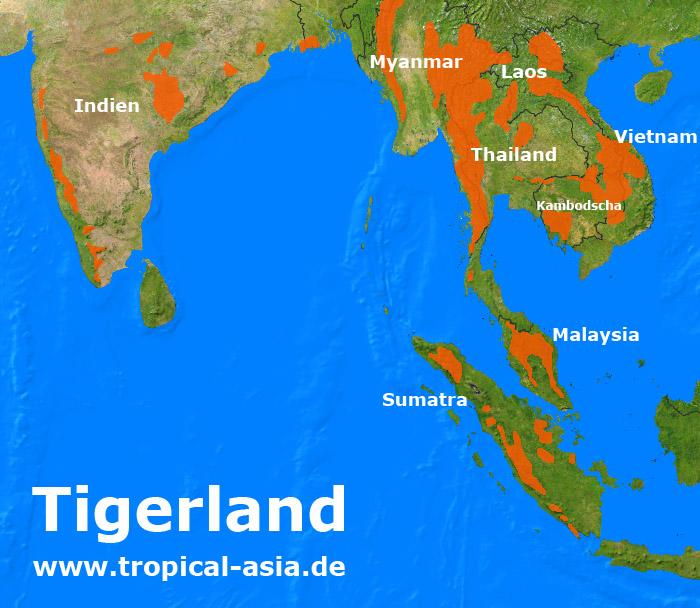 Tigerland Tigerschutzgebiete In Südostasien Online Reiseführer