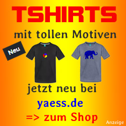 T-Shirts mit tollen Motiven